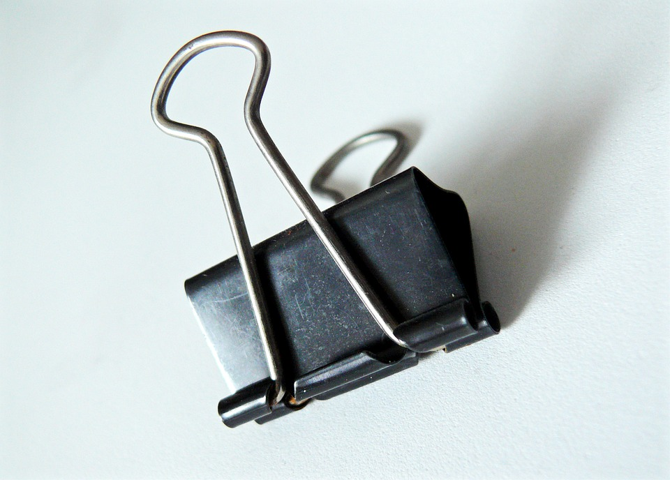Clip, Paperclip, Office Utensils, Office Supplies