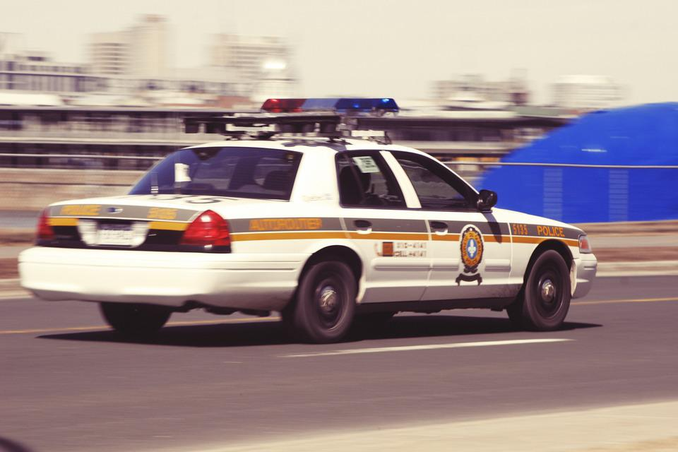 Police Car, Cops, Car, Driving, Speed, Officer, Vehicle