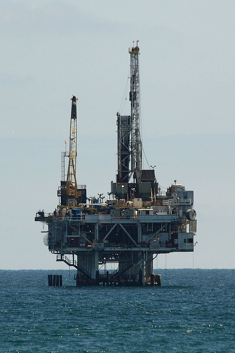 Oil, Drilling, Offshore, Platform, Industry, Energy