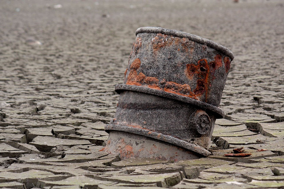 Barrel, Canister, Oil, Rust, Ecology, Cracks