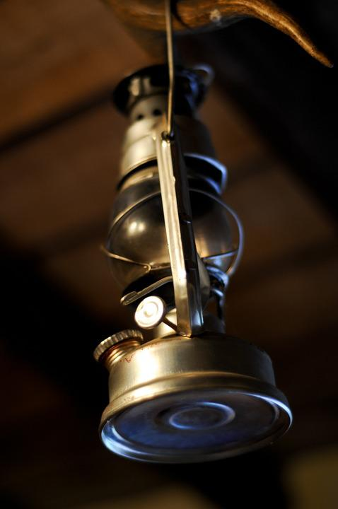 Lantern, Oil, Lamp