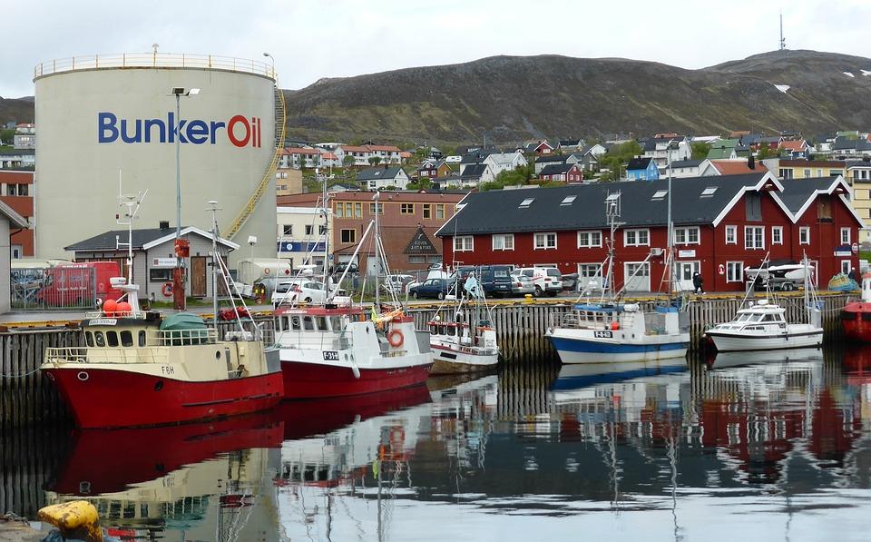 Port, Norway, Oil, Tanker