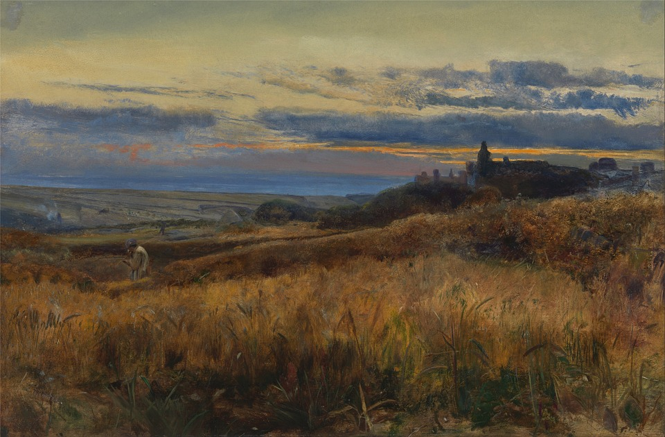 John Inchbold, Painting, Oil On Canvas, Artistic
