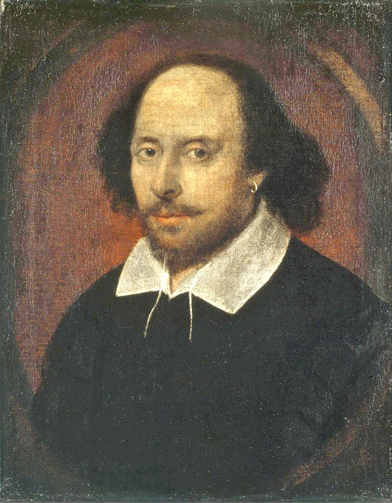 Shakespeare, Poet, Writer, Author, Oil Painting