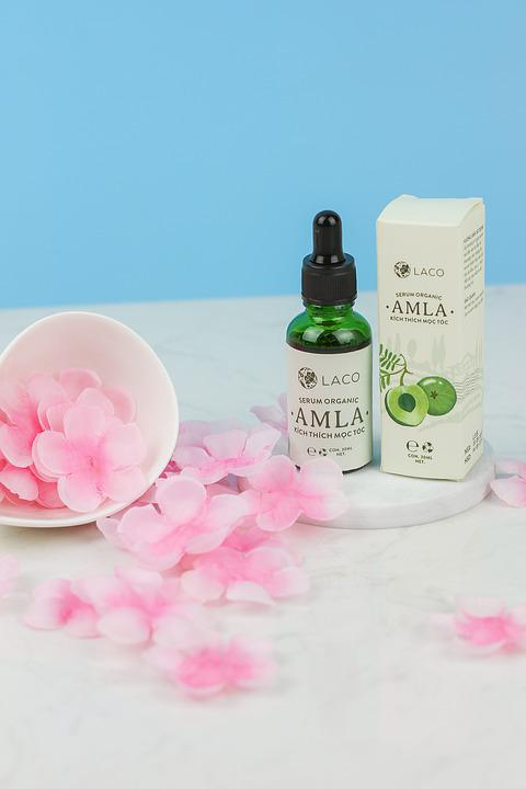 Oil, Amla, Cherry Flowers, Products, Layout