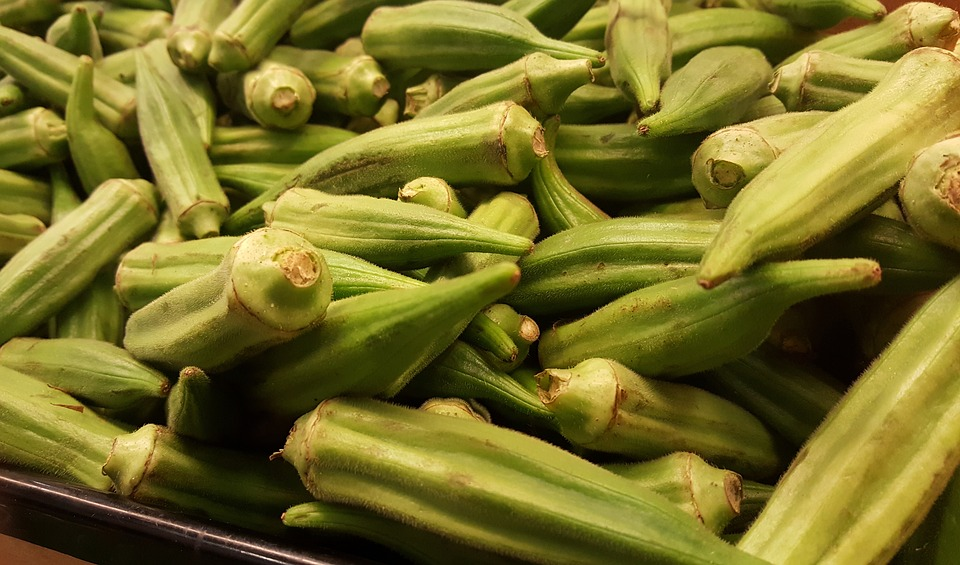 Okra, Okro, Cooking, Ladies' Fingers, Gumbo, Ochro