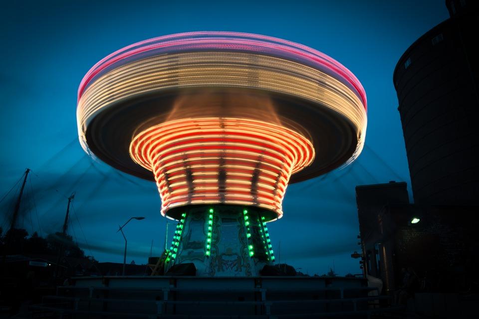 Chain Carousel, Carousel, Oktoberfest, Fair