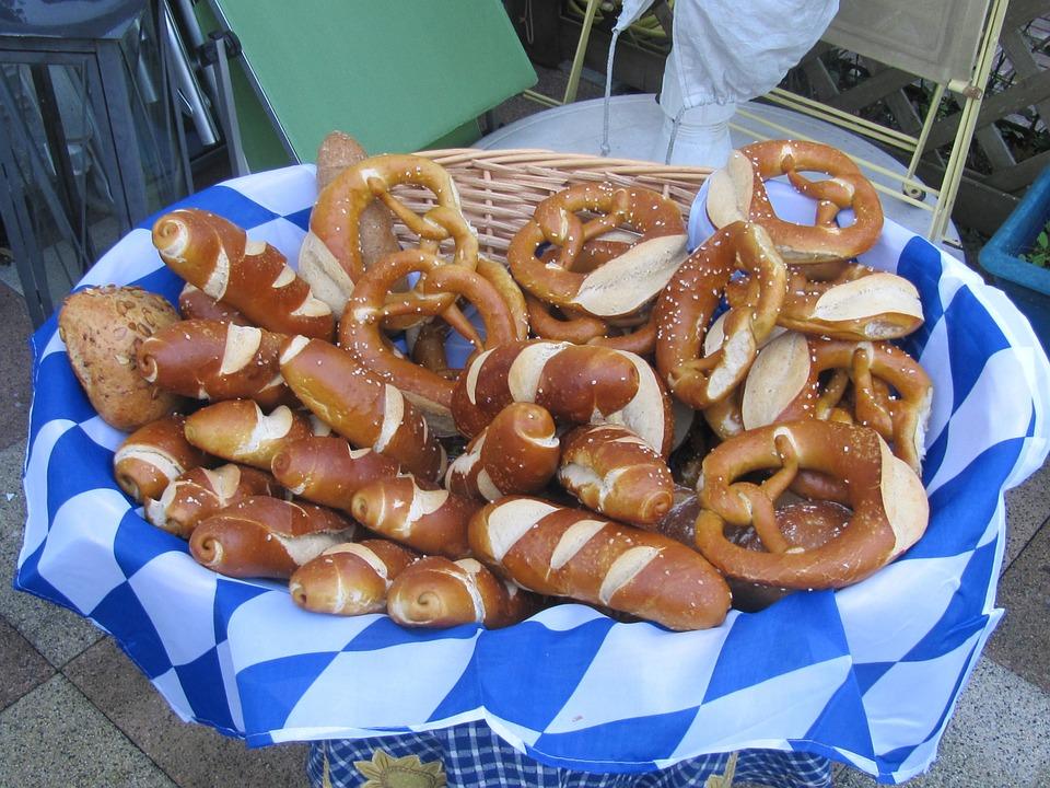 Pretzels, Oktoberfest, Deco, October, Baked Goods