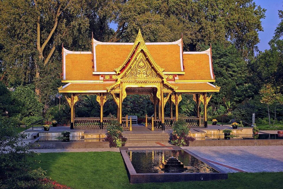 Thai Pavilion At Olbrich, Olbrich, Botanical, Gardens