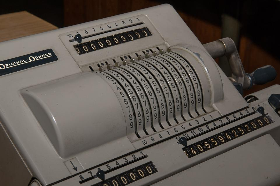 Calculating Machine, Analog, Old Abacus, Count