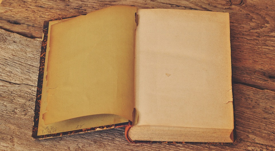Book, Old, Antique, Pages, Empty Pages, Book Pages