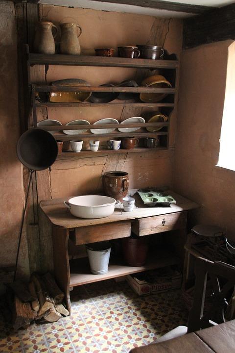 Kitchen, Old, Antique, Cook, Kitchen Appliances