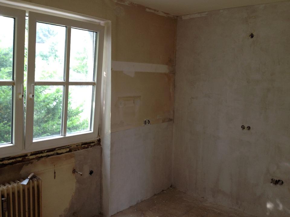 Renovation, Old, Apartment, Kitchen, Window