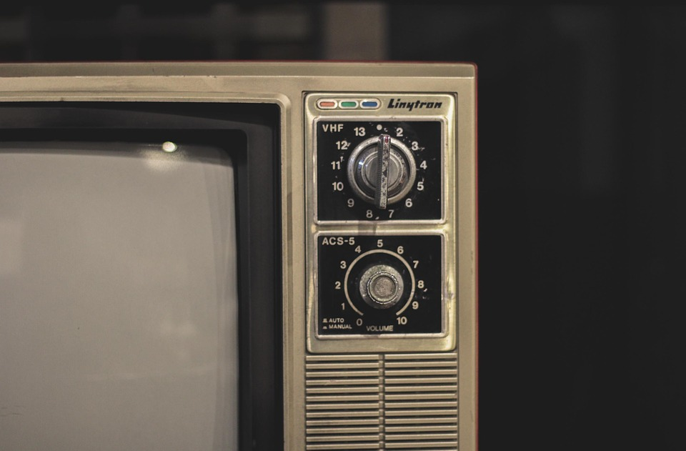 Antique, Appliances, Media, Old, Television, Tv