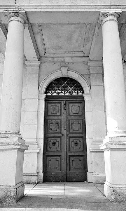 Free Photo Old Architecture Entry Door Building Metal Max Pixel