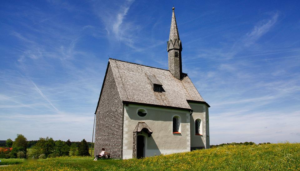 Architecture, Sky, Church, Grass, Old, Summer, Religion