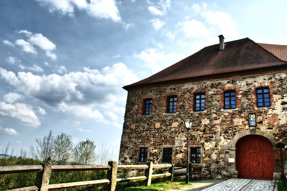 Architecture, House, Old, Sky, Upper Palatinate