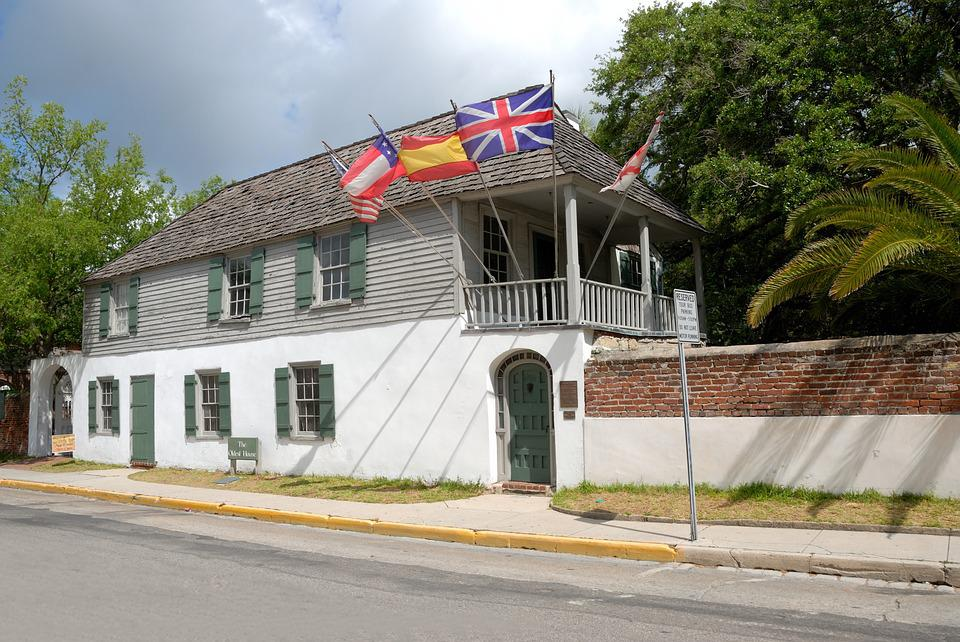 Oldest House, St Augustine, Florida, Architecture, Old