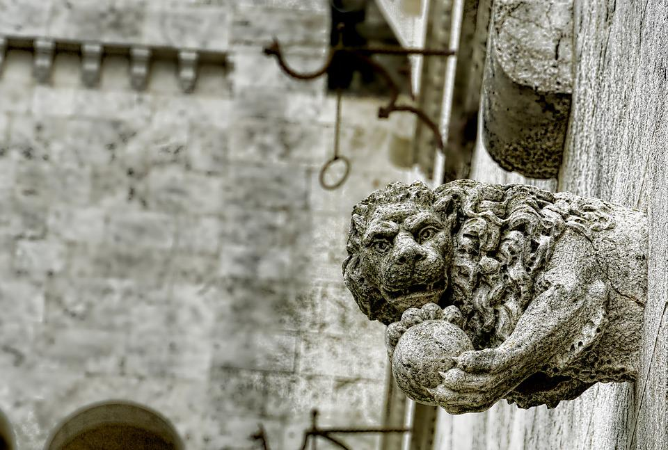 Statue, Old, Sculpture, Architecture, Art, Stone, Wall