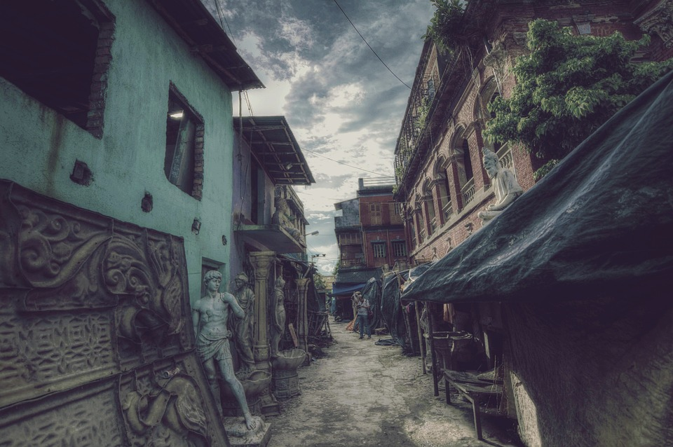 City, Old, Architecture, Structure, Street