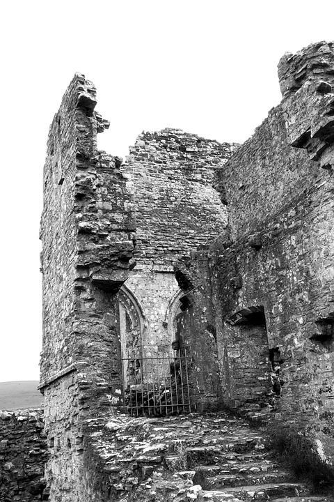 Ruin, Uk, Stone, Old, Architecture, England, Vintage