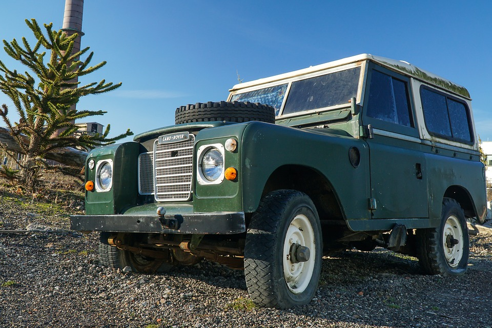 Landrover, All Terrain Vehicle, Old, Auto, Offroad