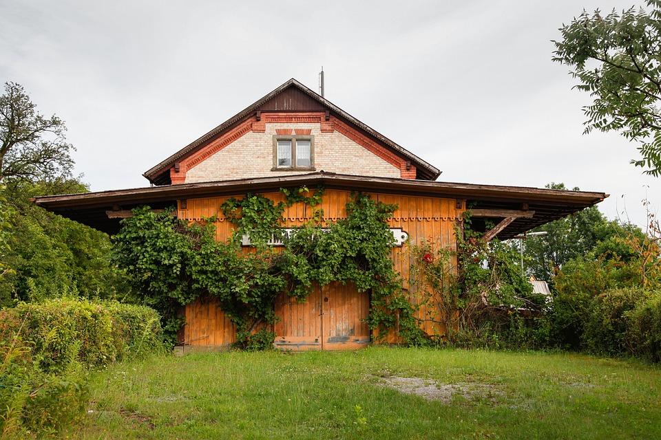 Railway Station, Bermatingen, Railway, Old