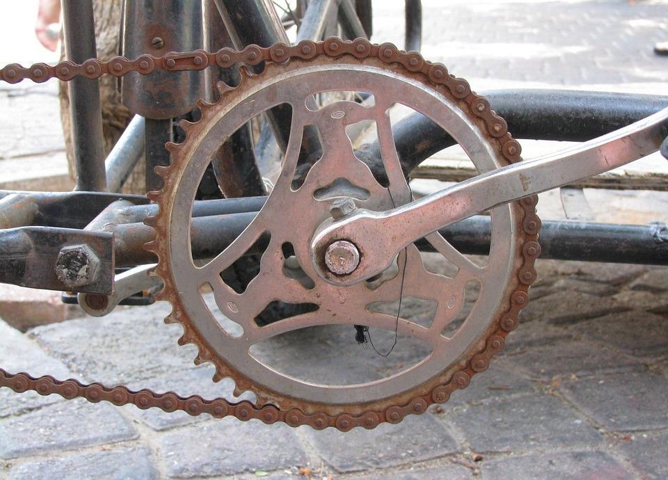 Bicycle, Rusty, Metal, Old, Bike, Chain
