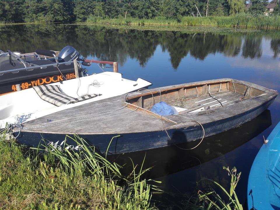 Old Boat, Wood Boat, More