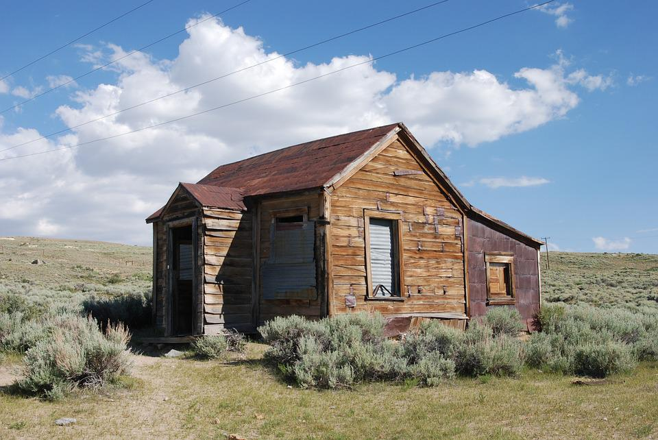 Bodie California Old Village Left Ghost Town