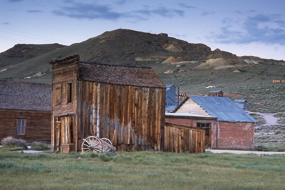 Bodie, Ghost Town, Old, Ghost, Town, Abandoned
