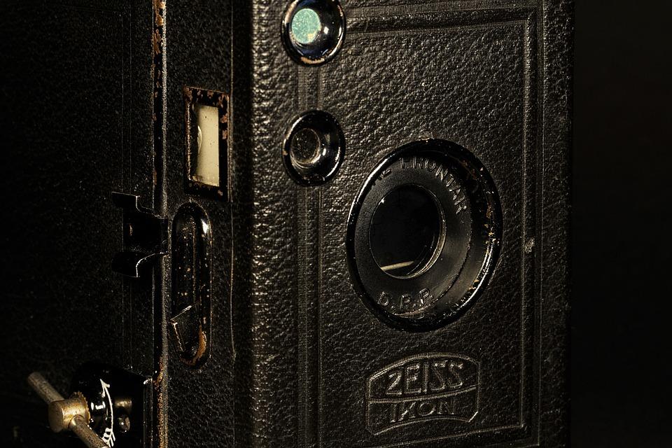 Old, Antique, Zeiss, Ikon, Box Tengor, 1920, Camera