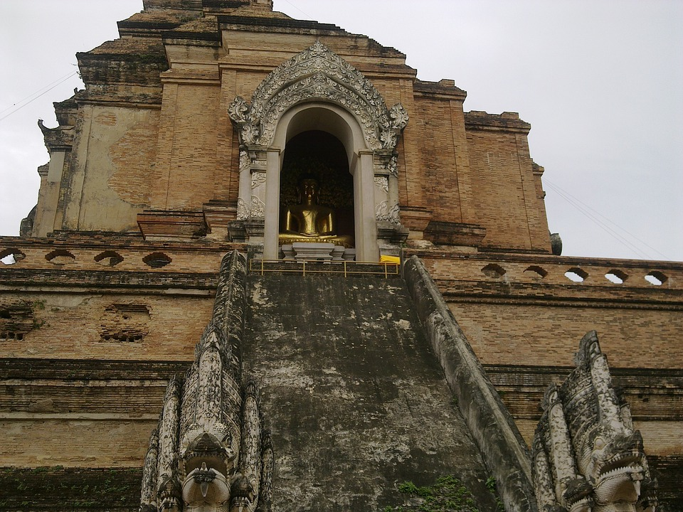 Temple, Buddhist, Old, Rest, Meditation