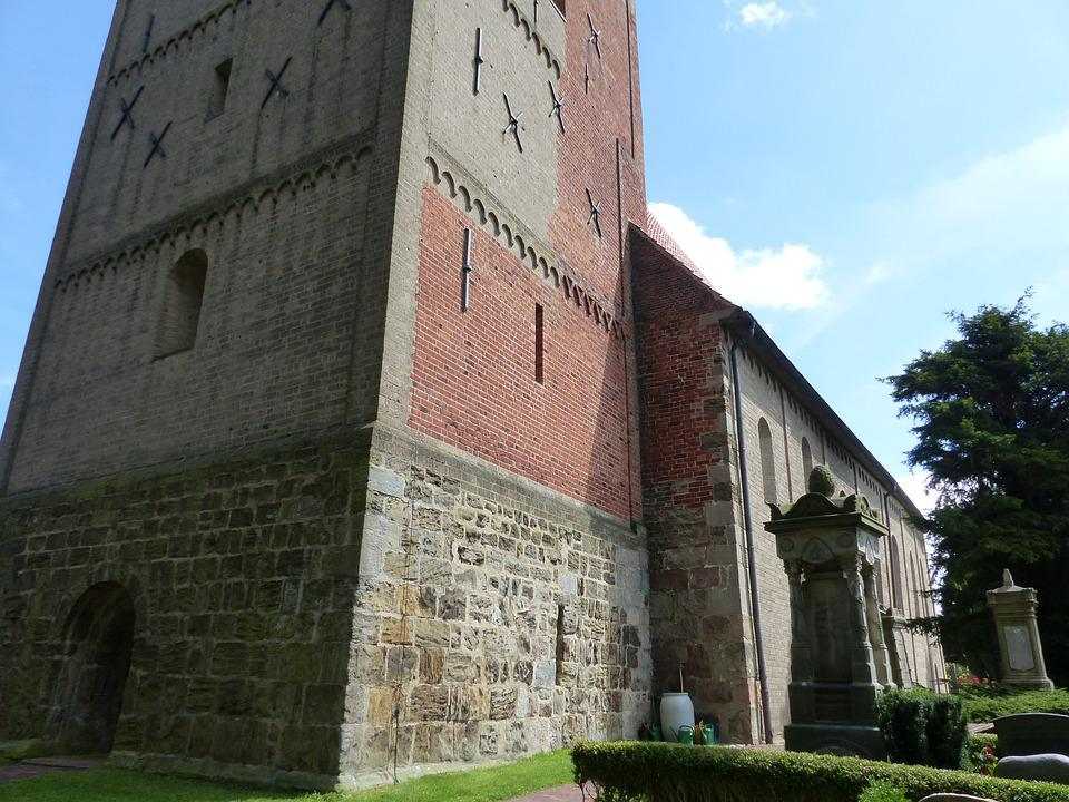 Church, Old, Old Building, Places Of Interest, Cloister