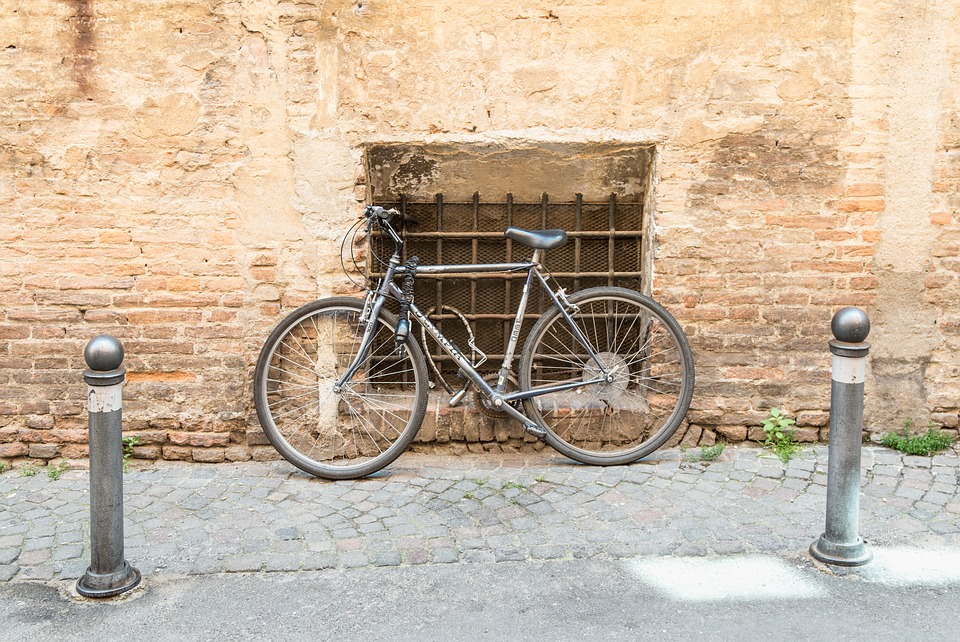Wall, Bike, Bicycle, Old, Cycle, Urban, Building