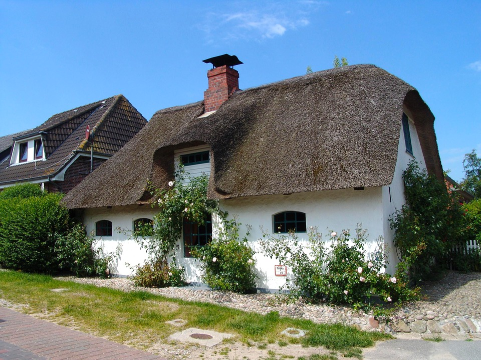 Fisherman's House, Nordfriesland, Home, Old Building