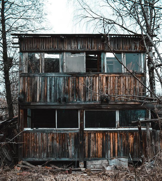 Cabin, Abandoned, Forest, Old Building, Ruins, Scary