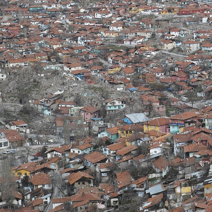 Old, Building, Neighborhood, Slum, Structure