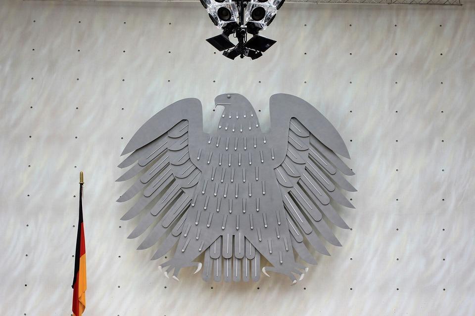 Federal Eagle, Old Bundestag, Bonn, Building, Inside
