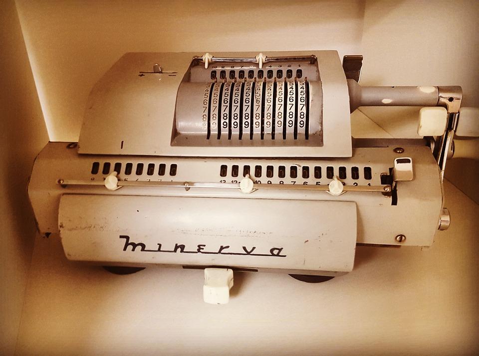 Calculator, Old, Vintage