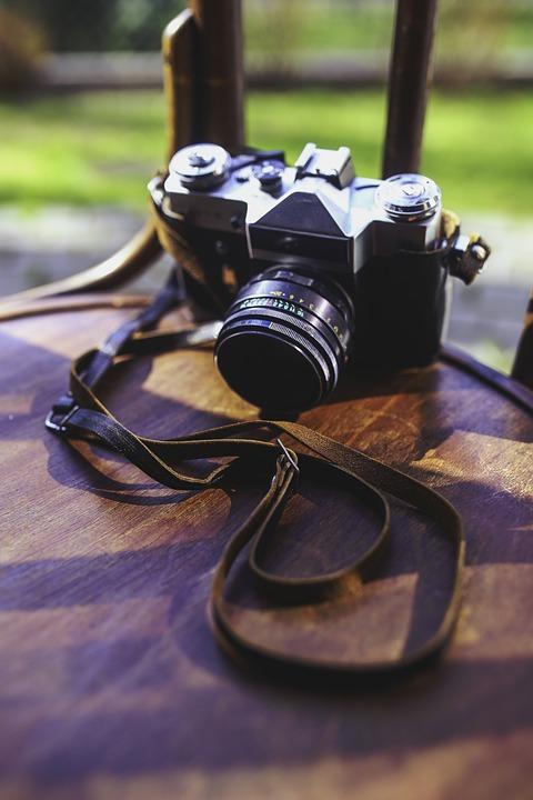 Old, Vintage, Camera, Zenit