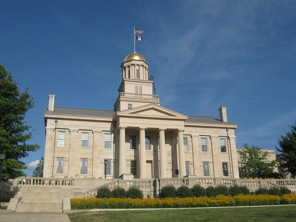 Old Capitol, Iowa City, Iowa, Building, Old, Capitol