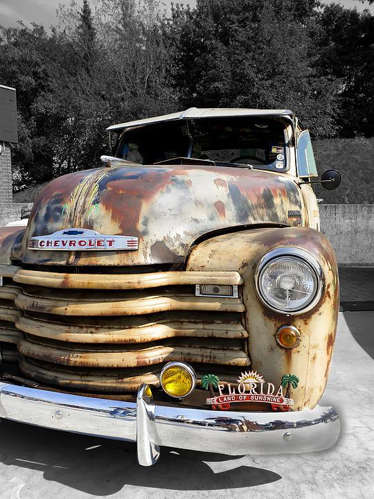 Chevy, Us Car, Car, American, Classic, Old, Usa