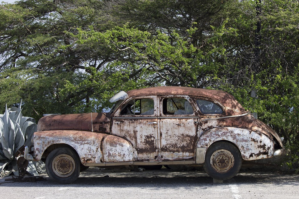 Free photo Old Car Car Wreck Old Classic Cars Car Automotive - Max Pixel