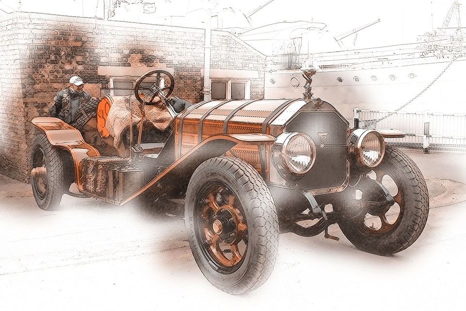 Car, Vintage, Old, Retro, Transportation, Classic