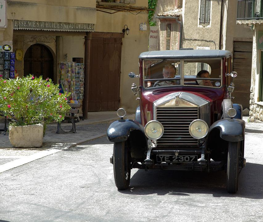Rolls Royce, Old Car, Collector, Car