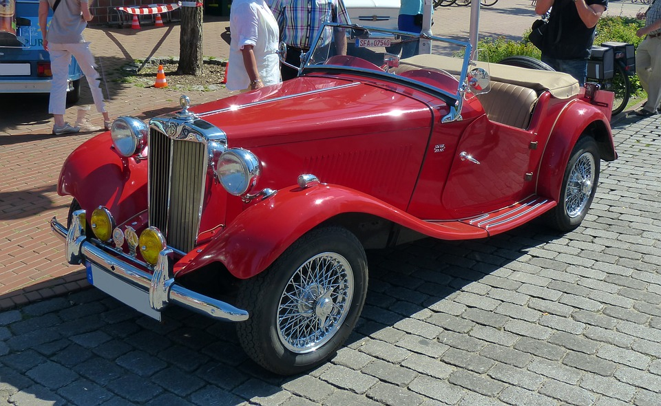 Oldtimer, Old Cars, Mg, Historically, Classic, Old