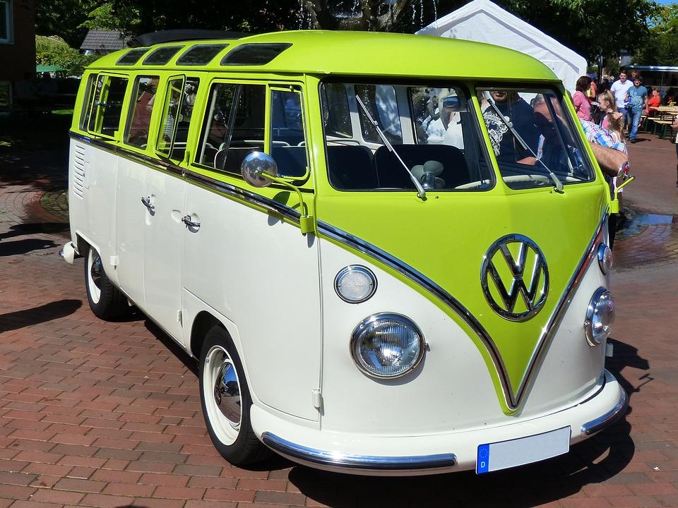 Vw Bus, Oldtimer, Historically, Old Cars, Automotive