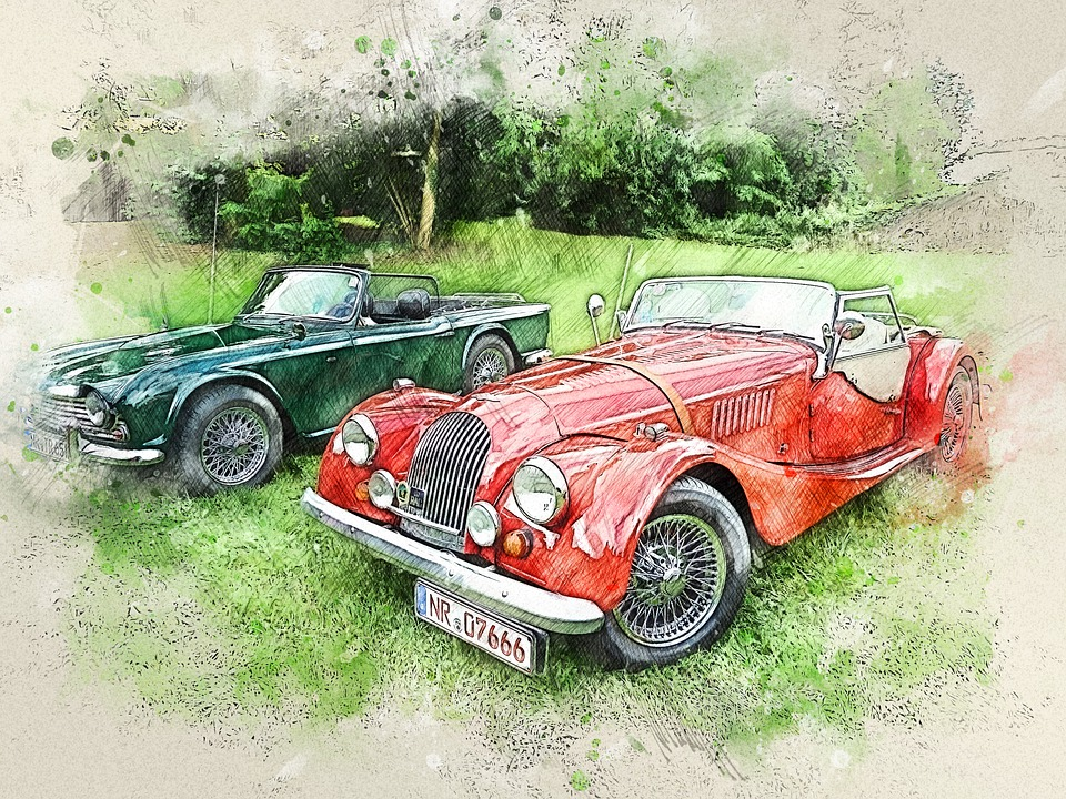 Cars, Vehicles, Classic, Old, Vintage, Auto