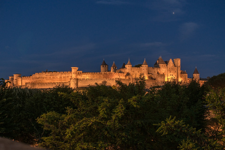 Carcassone, France, Fortress, Castle, Medieval, Old